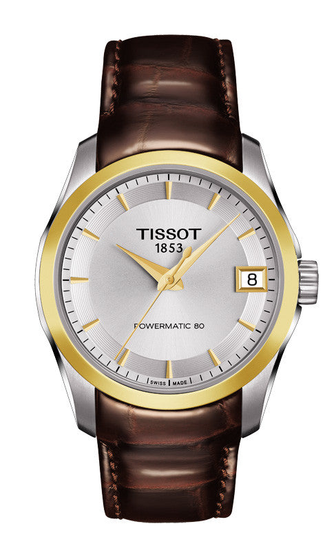 Tissot Couturier Powermatic 80 Lady T035.207.26.031.00 - Arnik Jewellers