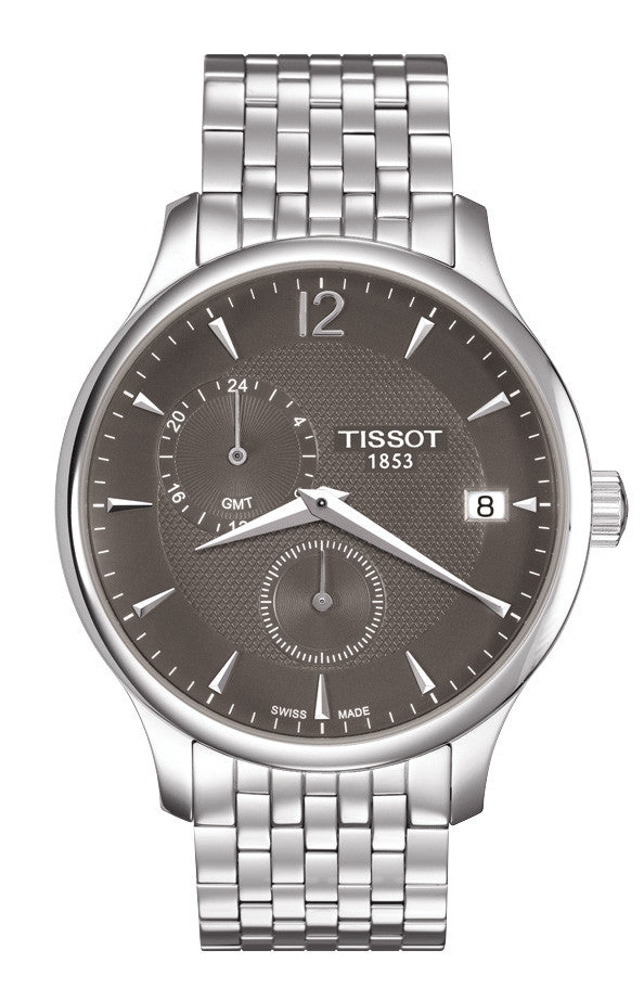 Tissot Tradition GMT Quartz T063.639.11.067.00 - Arnik Jewellers