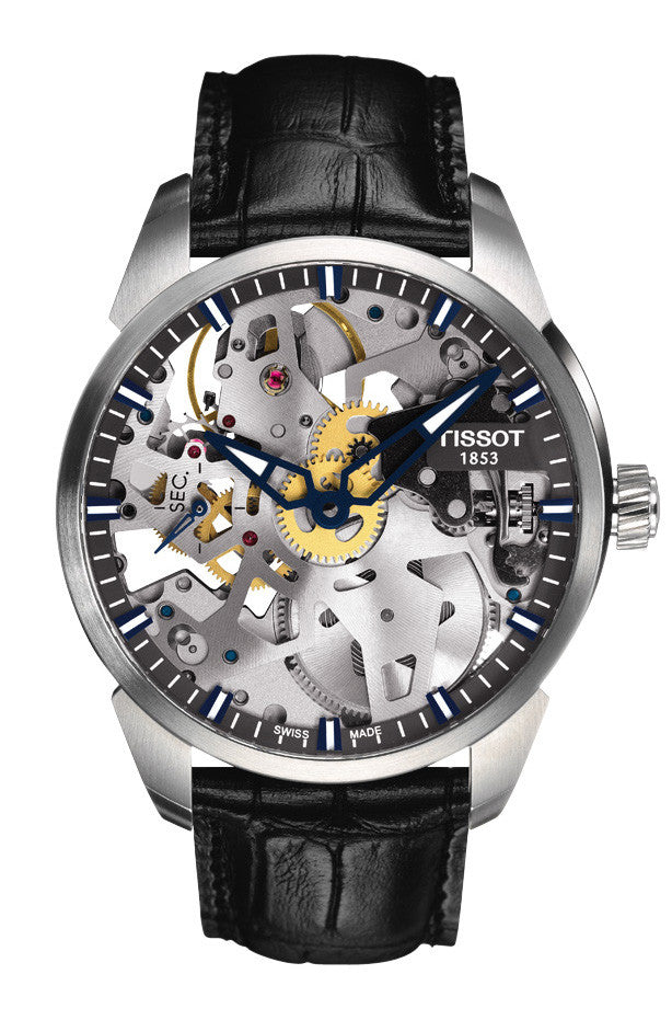 Tissot T-Complication Squelette Mechanical T070.405.16.411.00 - Arnik Jewellers