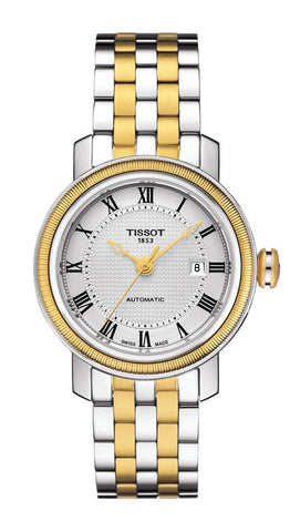 Tissot Bridgeport Automatic Lady T097.007.22.033.00 - Arnik Jewellers