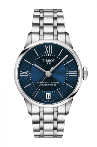 Tissot CHEMIN DES TOURELLES POWERMATIC 80 LADY T099.207.11.048.00 - Arnik Jewellers