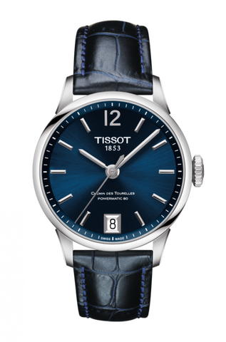 Tissot CHEMIN DES TOURELLES POWERMATIC 80 LADY T099.207.16.047.00 - Arnik Jewellers