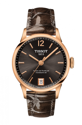 Tissot CHEMIN DES TOURELLES POWERMATIC 80 LADY T099.207.36.447.00 - Arnik Jewellers