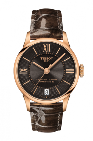 Tissot CHEMIN DES TOURELLES POWERMATIC 80 LADY T099.207.36.448.00 - Arnik Jewellers