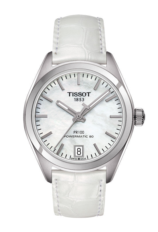 Tissot PR 100 Powermatic 80 Lady T101.207.16.111.00 - Arnik Jewellers