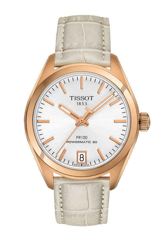 Tissot PR 100 Powermatic 80 Lady T101.207.36.031.00 - Arnik Jewellers