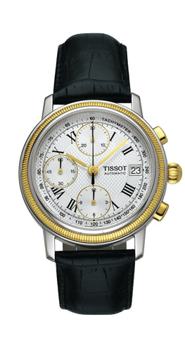 Tissot Bridgeport Automatic Valjoux 18K Gold Lady T71.0.427.33 - Arnik Jewellers