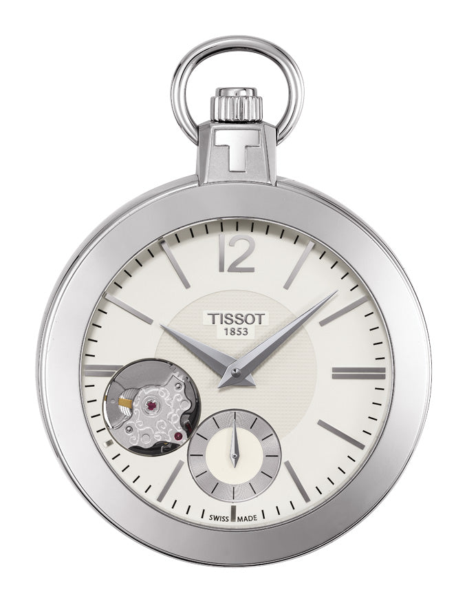 Tissot Pocket Mechanical Skeleton T853.405.19.267.00 - Arnik Jewellers