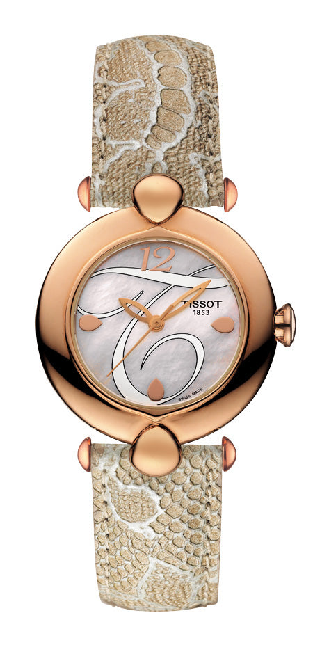 Tissot Pretty 18K Gold Lady T918.210.76.117.01 - Arnik Jewellers