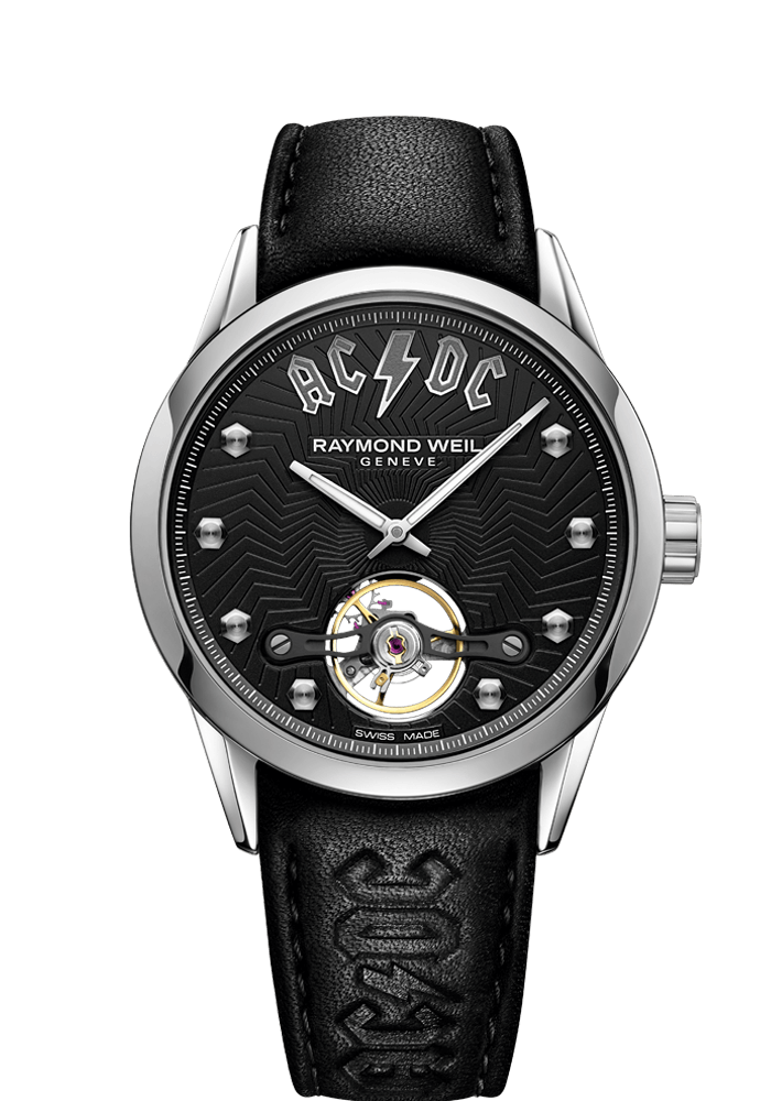 Raymond Weil AC/DC Limited Edition Freelancer Automatic 42mm Black Dial Stainless Steel 2780-STC-ACDC1 - Arnik Jewellers