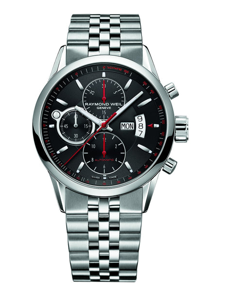 Raymond Weil Freelancer Automatic Chronograph 42mm Stainless Steel 7730ST20041 - Arnik Jewellers