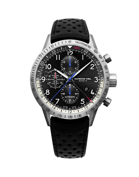 Raymond Weil Freelancer Piper Limited Edition GMT Automatic 45mm 7754TIC05209 - Arnik Jewellers