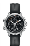 Hamilton KHAKI AVIATION X-WIND GMT CHRONO QUARTZ 46mm H77912335 - Arnik Jewellers