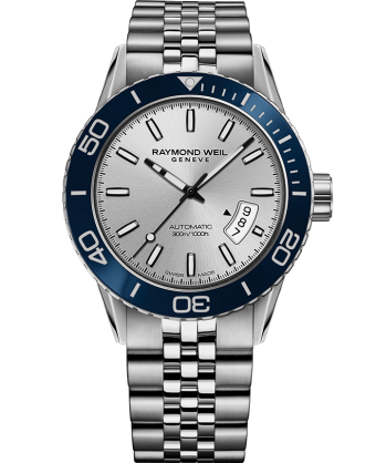 Raymond Weil Freelancer Automatic 42.5mm Silver Dial Stainless Steel 2760-ST4-65001 - Arnik Jewellers