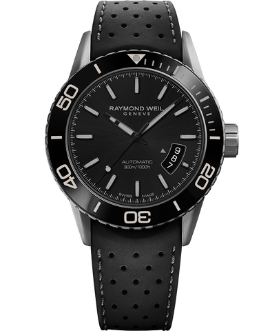 Raymond Weil Freelancer Automatic 42.5mm Black Dial Stainless Steel 2760-TR1-20001 - Arnik Jewellers
