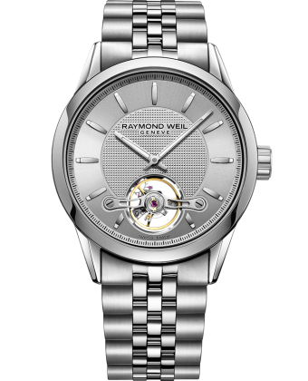 Raymond Weil Freelancer Automatic Open Balance Wheel Calibre RW1212 2780-ST-65001 - Arnik Jewellers
