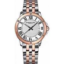 Raymond Weil Tango Quartz 39mm Rose Gold PVD/Stainless Steel 5591SP500300 - Arnik Jewellers