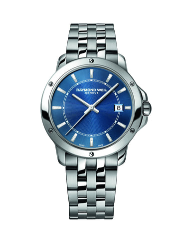 Raymond Weil Tango Quartz 39mm Stainless Steel Blue Dial 5591ST50001 - Arnik Jewellers