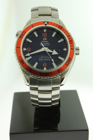 Omega Seamaster Planet Ocean Co-Axial Automatic Stainless Steel 2208.50.00 45mm - Arnik Jewellers