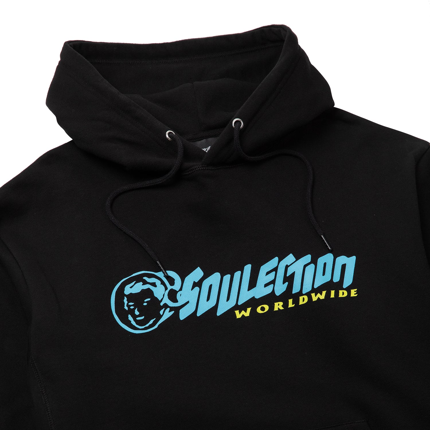 World Wide Hoodie - BLACK