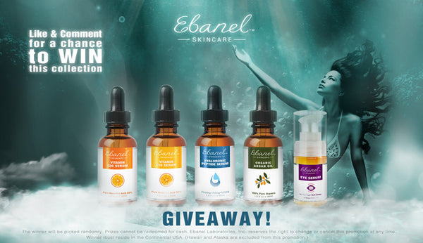 6th Ebanel Skincare Giveaway