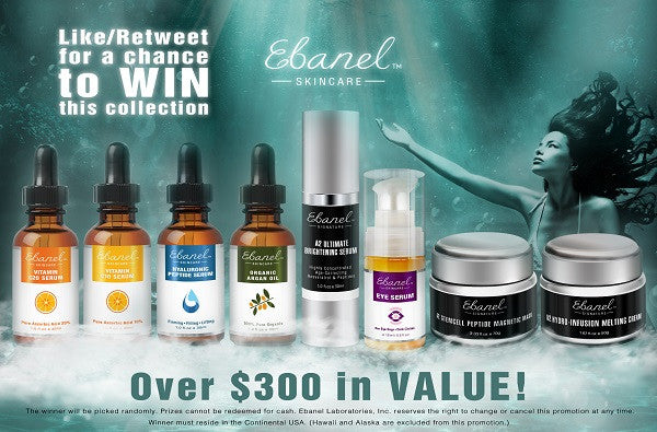 Incredible Skincare Giveaway in the New Year!