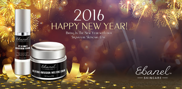 Happy New Year from Ebanel Skincare! 2016