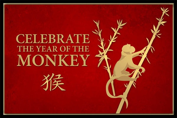 Happy Chinese New Year -- the Year of the Monkey!