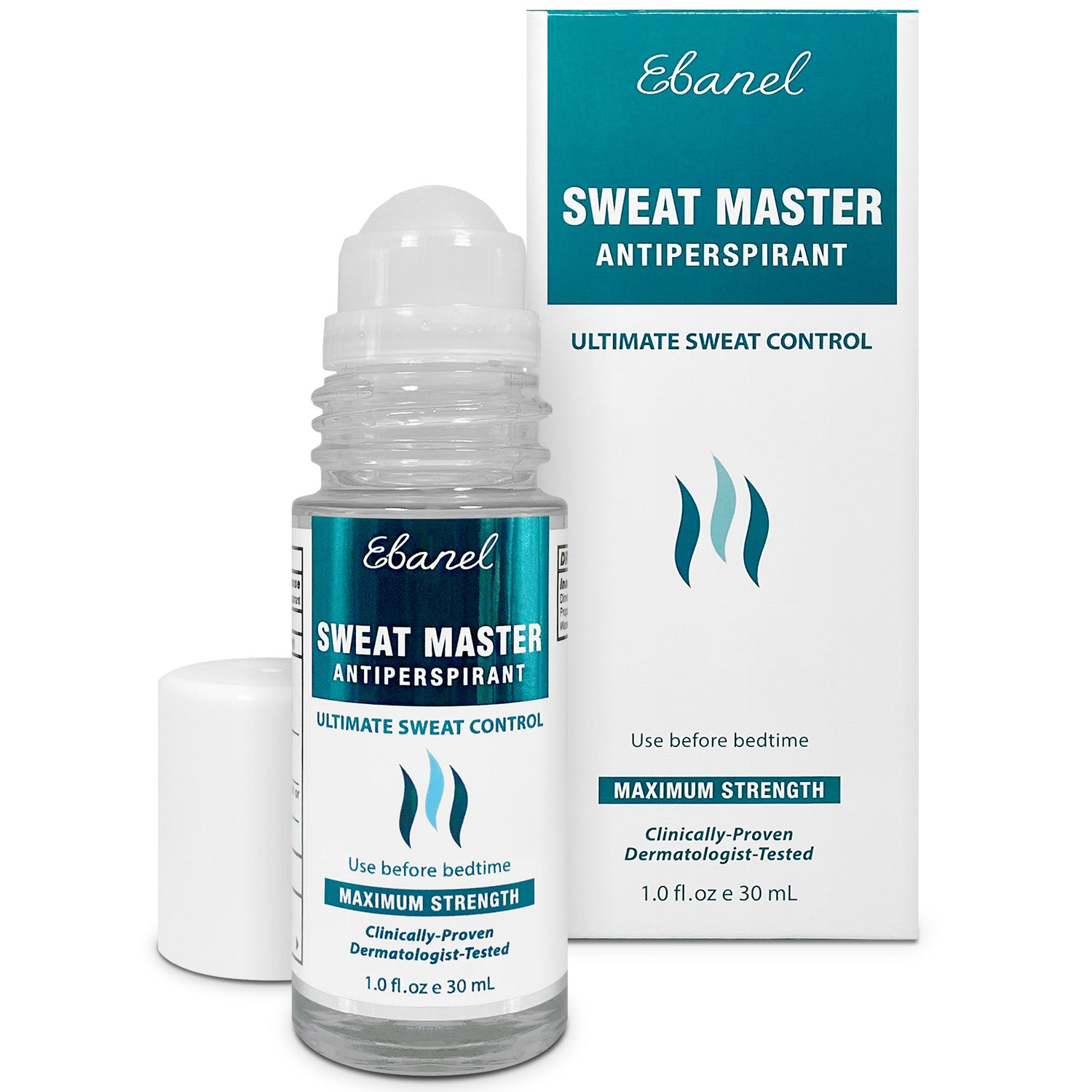 Sweat Master Antiperspirant Roll-On