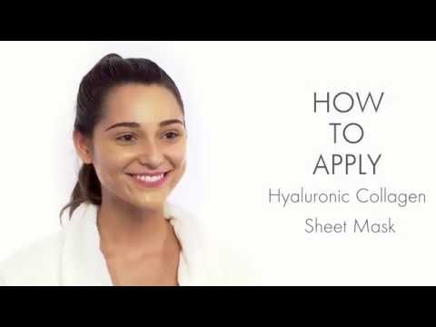 How to Apply Hyaluronic Ebanel Collagen Sheet Mask