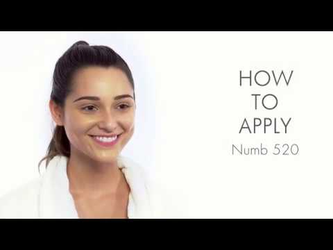 How to Apply Ebanel Numb 520 Cream