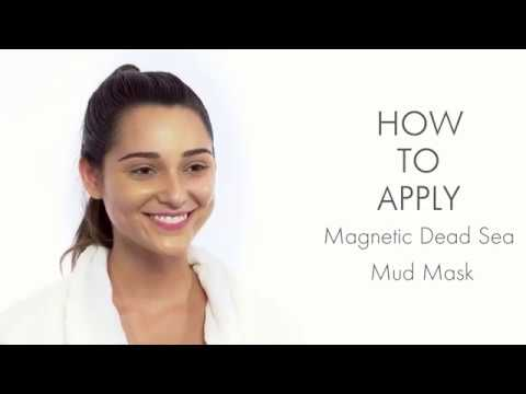 How to Apply Ebanel Magnetic Dead Sea Mud Mask