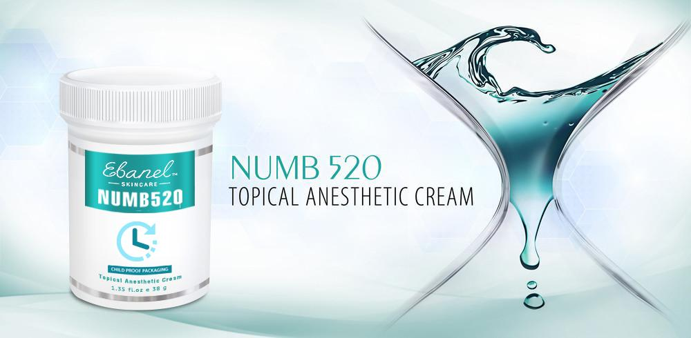 Numb 520 Topical Anesthetic Cream