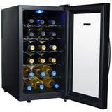 NewAir AW-180E Thermoelectric 18 Bottle Wine Cooler