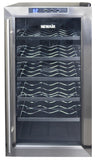NewAir AW-181E Thermoelectric 18 Bottle Wine Cooler