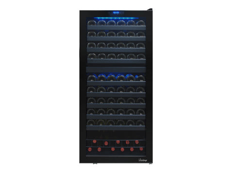Vinotemp Bulter Series 110 Bottle Dual-Zone Touch Screen Wine Cooler
