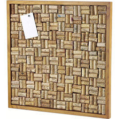 Large Wine Cork Bulletin Board Kit