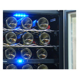 Vinotemp 58 Bottle Cooler with Interior Display