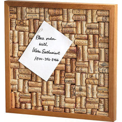 Small Wine Cork Bulletin Board Kit