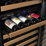 Wine Enthusiast Classic 166 Dual Zone Wine Cellar (Stainless Steel Trim)