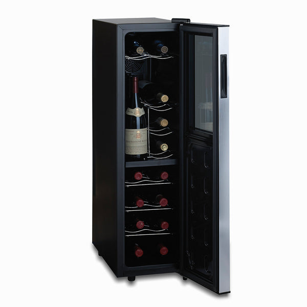 Wine Enthusiast Silent 18 Bottle Dual Zone Wine