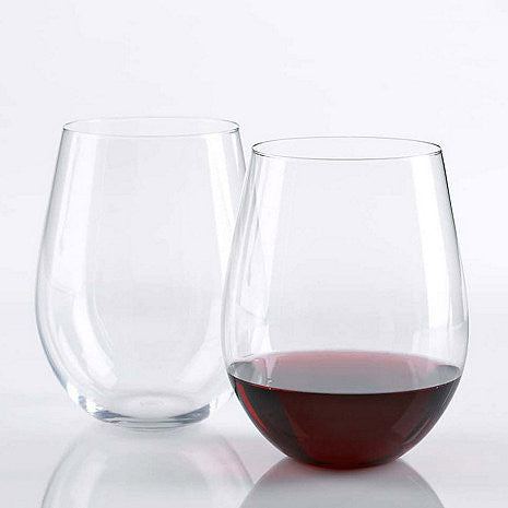 Wine Enthusiast U Cabernet Stemless Wine Glasses