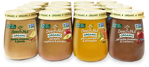 Organic Stage 2 Variety Pack (Fruit)