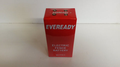 Eveready electric fencer battery 6 v