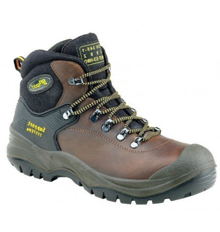 Gri Sport Contractor Safety Laced Boot