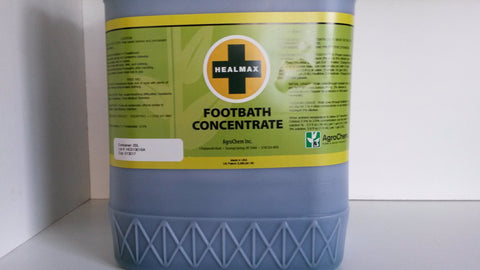Healmax ii footbath solution 20litre