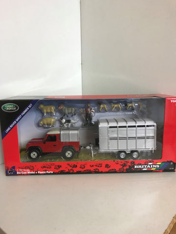 LAND ROVER SHEEP FARMER SET