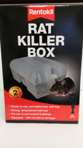 Rentokill rat killer box