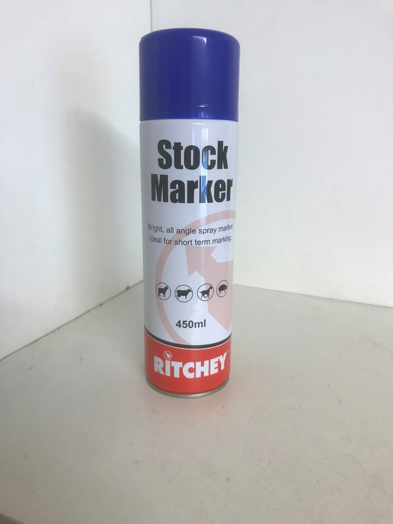 STOCK MARKER SPRAY TIN
