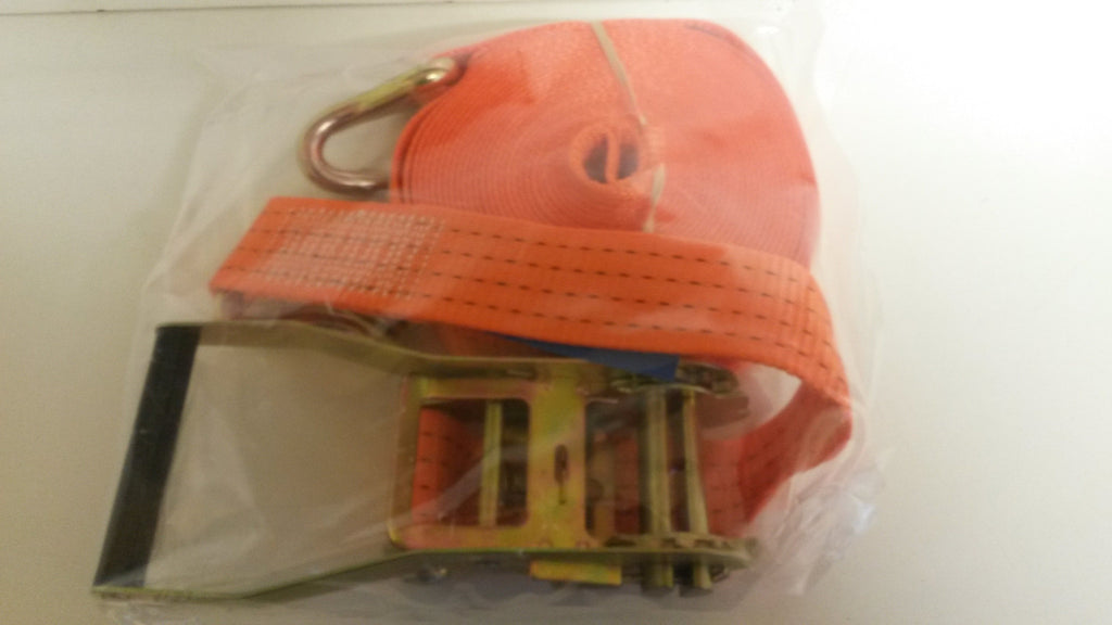 Ratchet lorry strap orange 10 metre